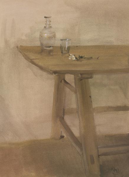 La mesa, 1950. Ramón Gya