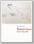 (12) RAMÓN GAYA. PARÍS Y ROMA 1992. 9 NOVIEMBRE – 13 DICIEMBRE 1992