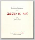 Cuaderno de viaje de Ramón Gaya.