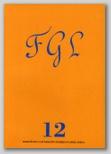 Año VI. Nº 12. Boletín de la Fundación Federico García Lorca.