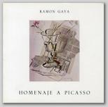 Ramón Gaya. Homenaje a Picasso. .