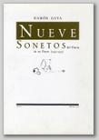Ramón Gaya. Nueve sonetos del diario de un pintor. (1940-1979).
